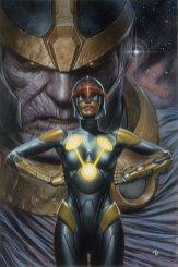 Infinity Gauntlet #1, variant cover di Adi Granov