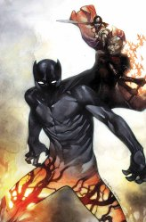 Black Panther #1, variant cover di Olivier Coipel