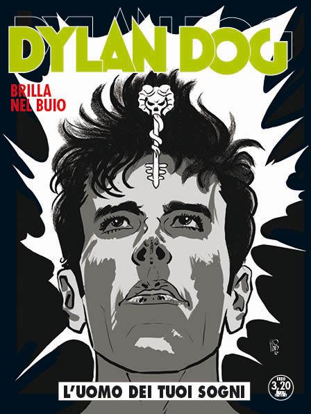 Dylan Dog 355: L'uomo dei tuoi sogni, copertina di Angelo Stano