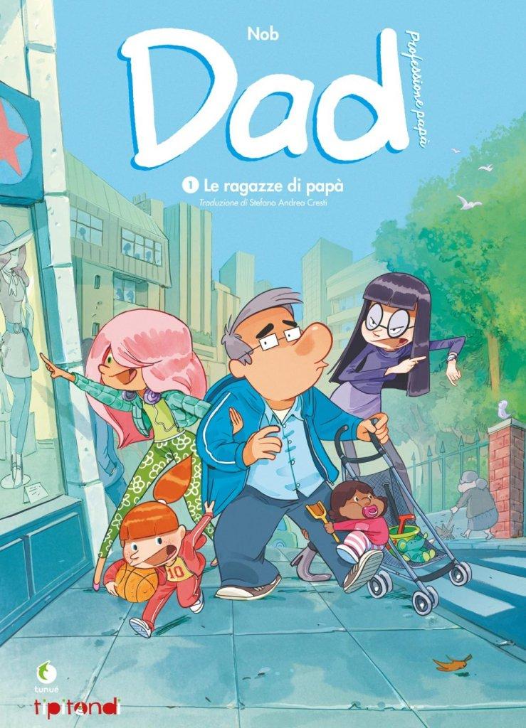 Dad, Professione papà 1, copertina di Nob
