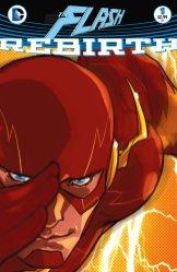 The Flash: Rebirth #1, copertina