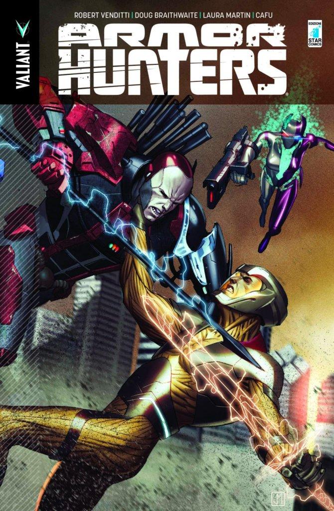 Armor Hunters, copertina