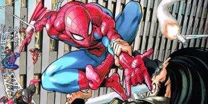 Spider-Verse, copertina di Yusuke Murata ico