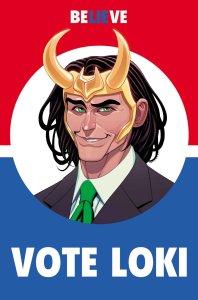 Vote Loki #1, copertina di Tradd Moore