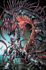 Cyborg #2, copertina di Will Conrad