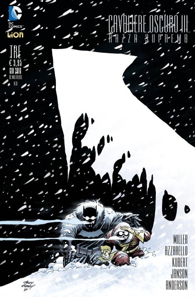 Cavaliere Oscuro III – Razza Suprema 3, copertina di Andy Kubert