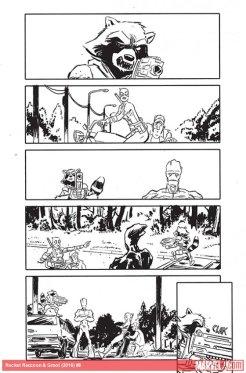 Rocket Raccoon & Groot #8, anteprima 10
