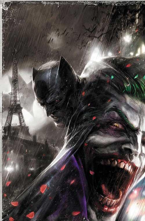 Batman: Europa Uncut 3, variant cover di Francesco Mattina