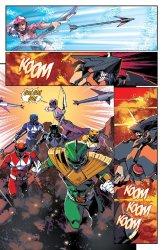 Mighty Morphin Power Rangers #6, anteprima 01