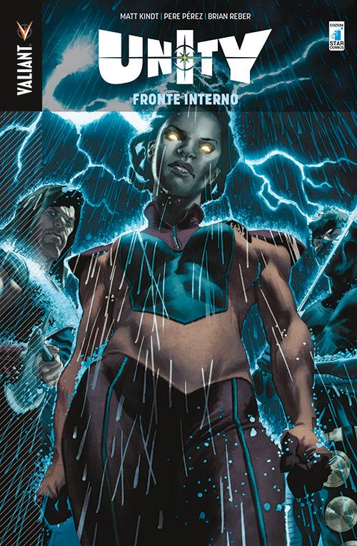 Unity vol. 5: Guerra sul fronte interno, copertina di Lewis LaRosa