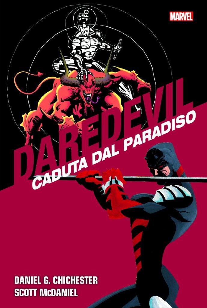Daredevil Collection vol. 8: Caduta dal Paradiso, copertina di Scott McDaniel