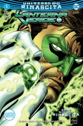 Lanterna Verde 1, copertina di Ethan Van Sciver