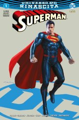 Superman 1, copertina variant di Andy Park