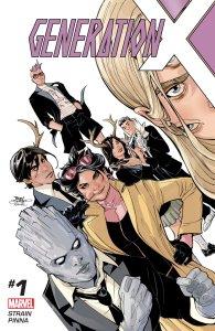 Generation X #1, copertina ti Terry e Rachel Dodson