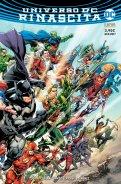 Universo DC: Rinascita, variant cover di Ivan Reis