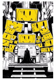Batman #21, copertina di Jason Fabok
