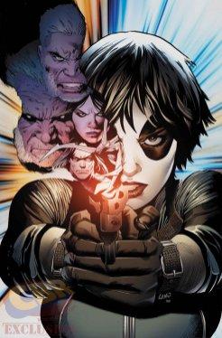 Weapon X #3, copertina di Greg Land