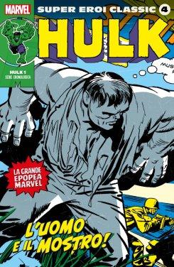 Super Eroi Classic 4, copertina di Jack Kirby