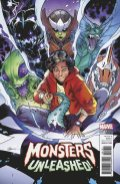 Monsters Unleashed #1, variant cover di R.B. Silva