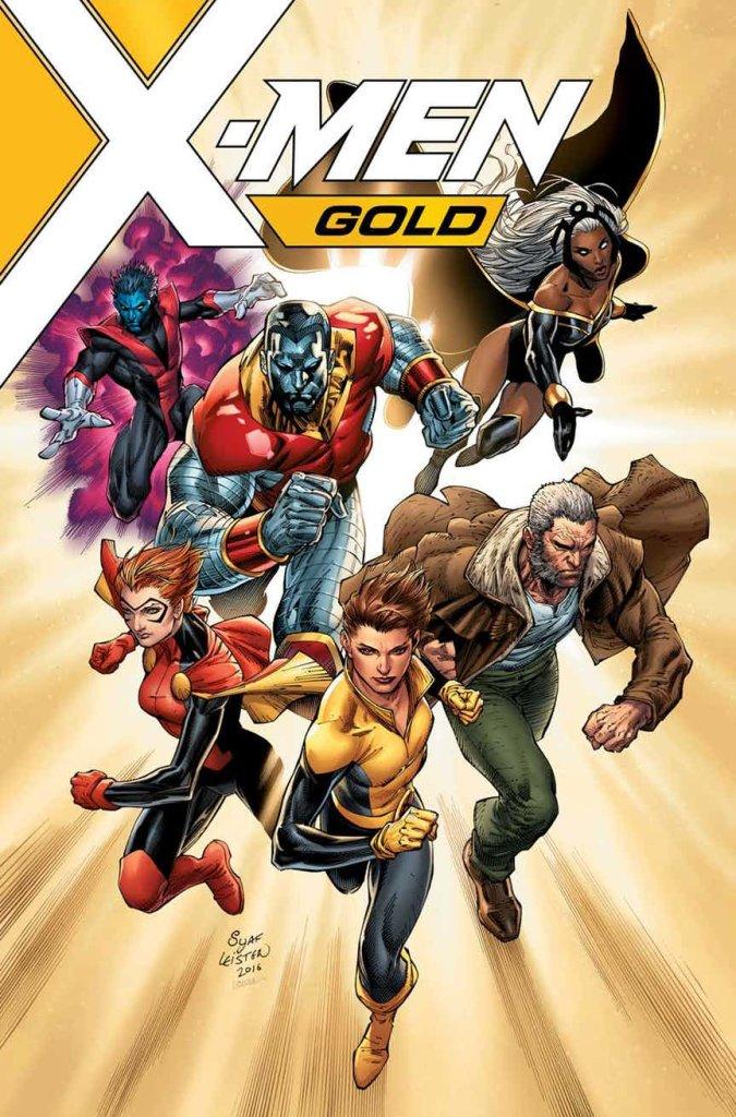 X-Men: Gold #1, copertina di Ardian Syaf