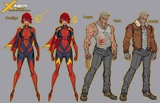 X-Men Gold, sketch di Jonboy Meyers #1
