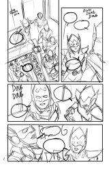 Avengers #8, anteprima 01 (schizzi)