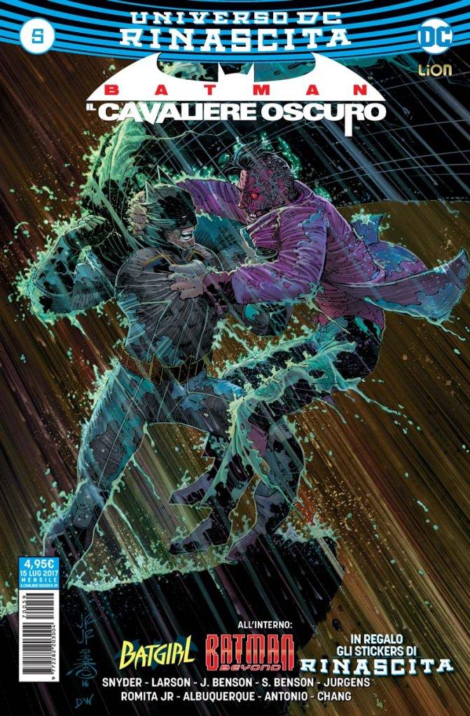 Batman: Il Cavaliere Oscuro 5, copertina di John Romita Jr.