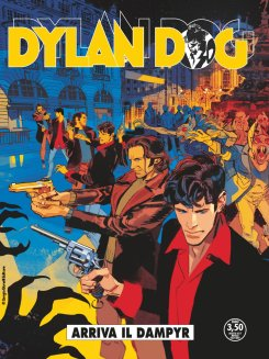 Dylan Dog 371, copertina A di Gigi Cavenago