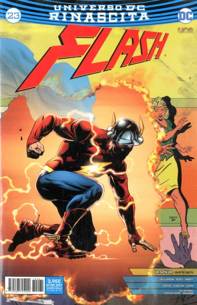 Flash 23, copertina di Jason Fabok