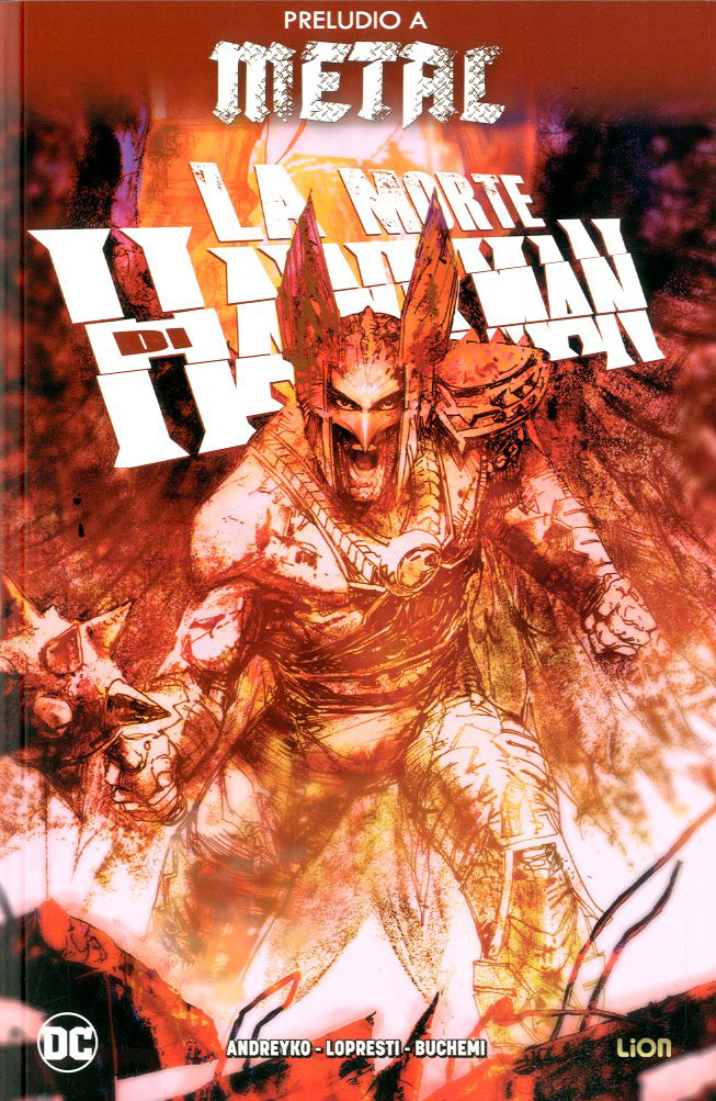La Morte di Hawkman, copertina di Bill Sienkiewicz