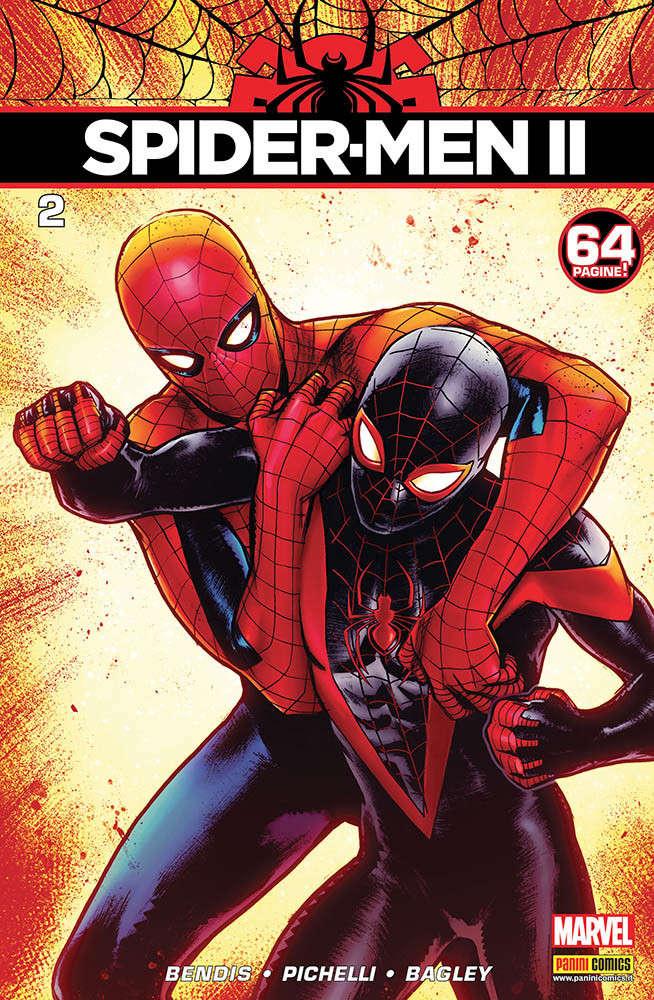 Spider-Men II 2, copertina di Sara Pichelli
