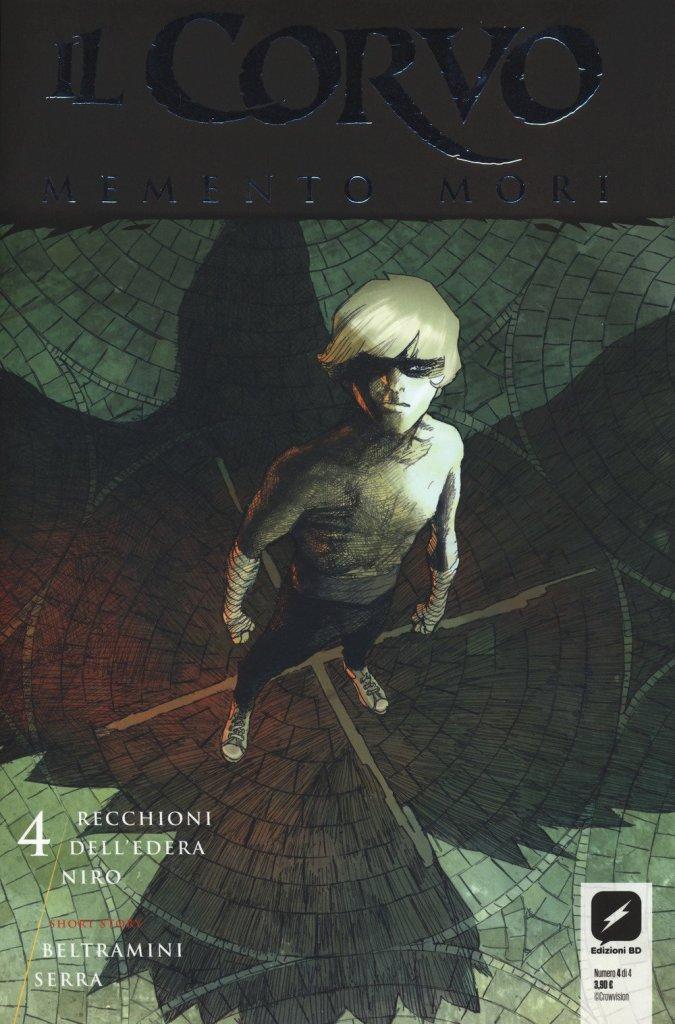 Il Corvo Memento Mori 4, copertina di Werther Dell'Edera
