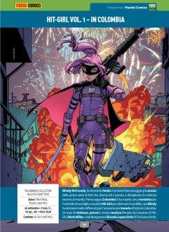Hit-Girl: vol.1 In Colombia su Anteprima