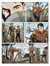"""Color Zagor 7: La giustizia di """"Wandering"""" Fitzy, anteprima 03"""