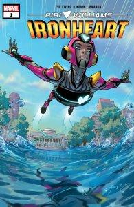 Ironheart #1, copertina di Amy Reeder