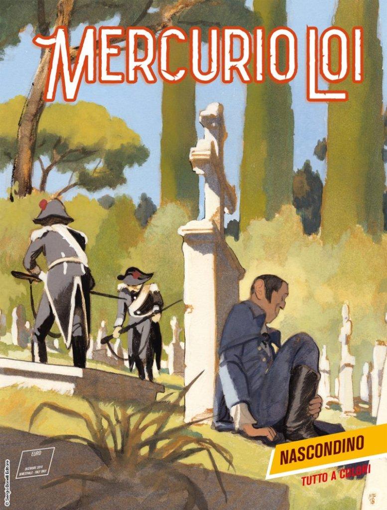 Mercurio Loi 14: Nascondino, copertina di Manuele Fior