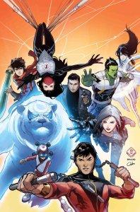 War of the Realms: New Agents of Atlas #1, copertina di Billy Tan