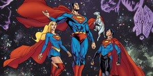 Superman, Supergirl, Superboy