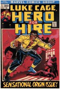 Luke Cage: Hero for Hire #1, copertina di Billy Graham