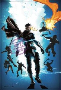 X-Force #10, copertina di Valerio Schiti