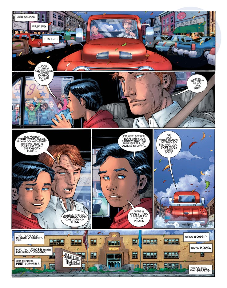Superman: Year One #1, anteprima 05