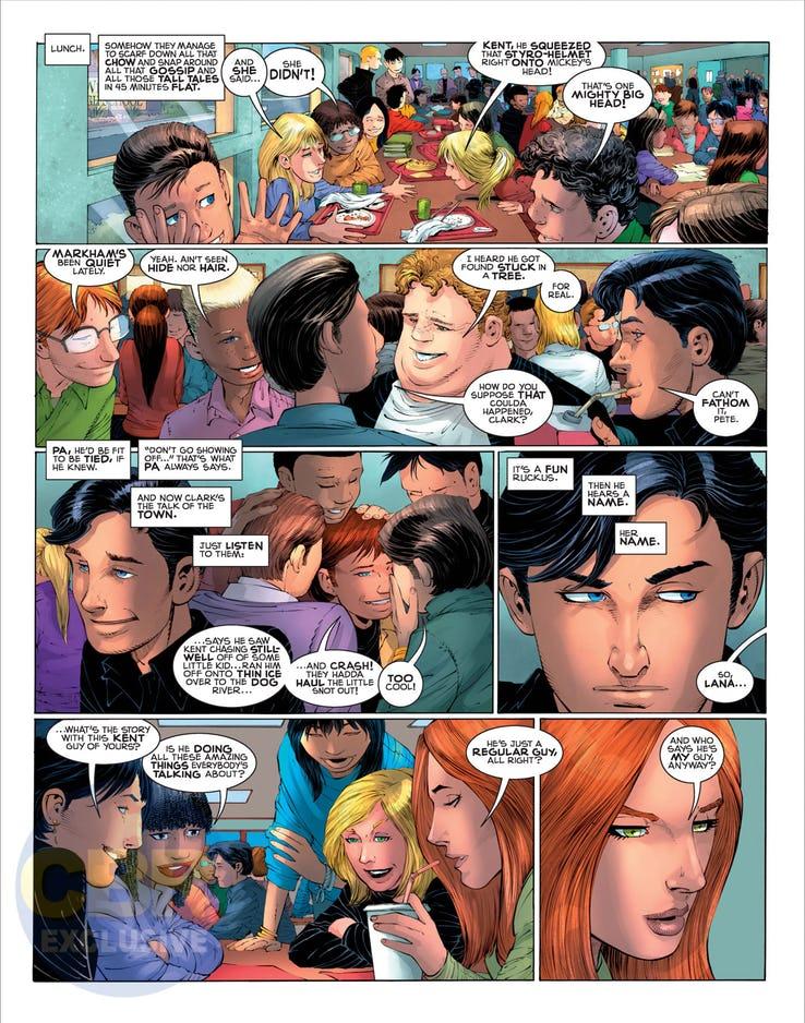 Superman: Year One #1, anteprima 08