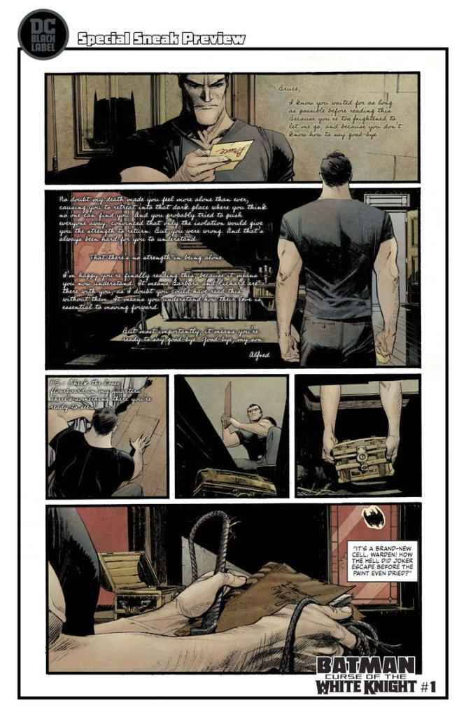 Batman: Curse of the White Knight #1, anteprima 04