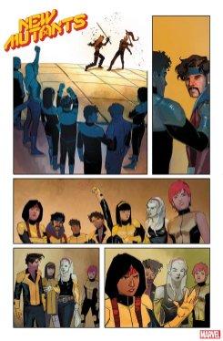 New Mutants #1, anteprima 02