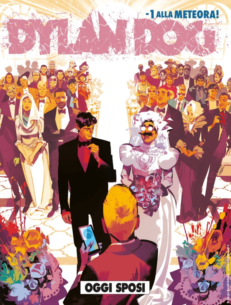Dylan Dog 399: Oggi sposi, copertina di Gigi Cavenago
