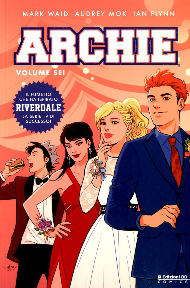 Archie vol. 6, copertina di Audrey Mok