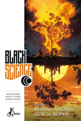 Black Science vol. 9, copertina di Matteo Scalera
