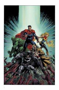 DCeased: Dead Planet, illustrazione di David Finch