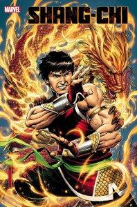 Shang-Chi #1, copertina di Jim Cheung