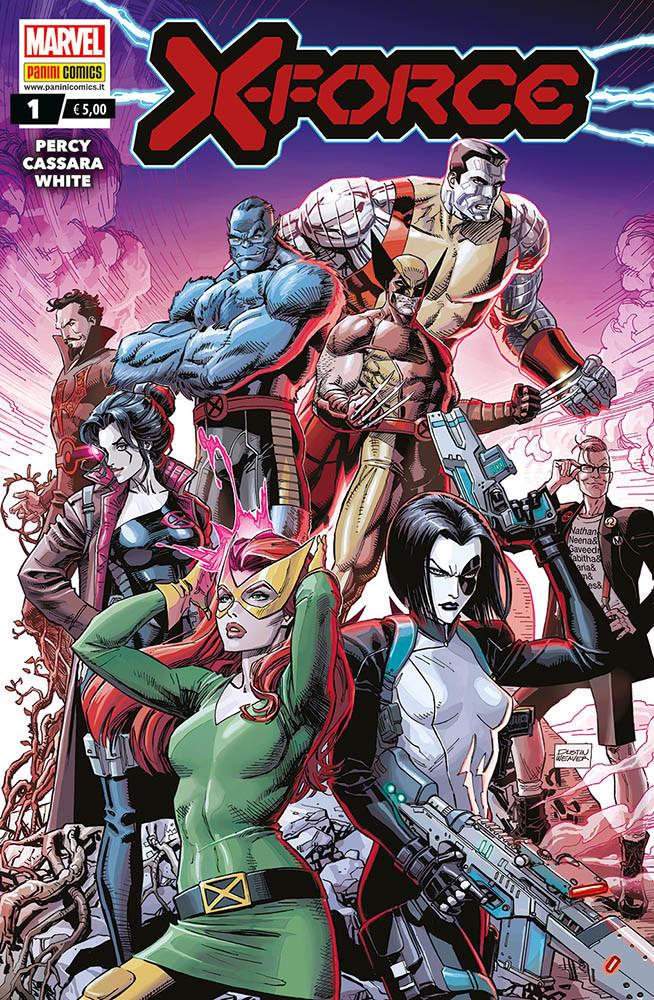 X-Force #1, copertina di Dustin Weaver